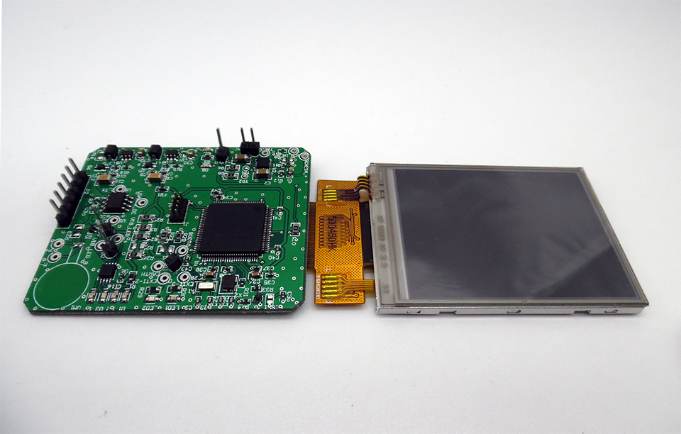 Touch screen card