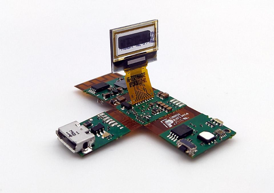 Carte électronique montre connectée - Étude CAO électronique, routage e cablage