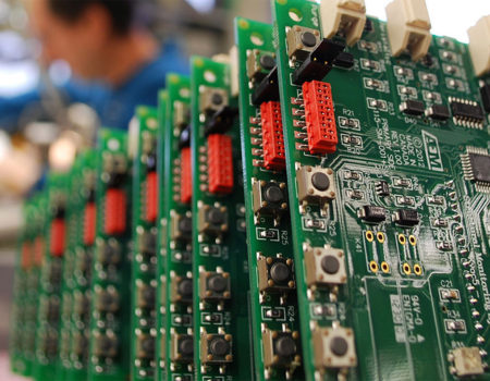 The electronics manufacturing sector in France